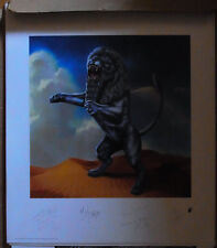 "ROLLING STONES ""Bridges to Babylon"" sig. Lithographie"