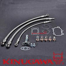 Kinugawa Turbo Oil Water Line S13 SR20DET Silvia w/ Kinugawa TD05H TD06SL2 Turbo