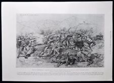 Original Antique Military Art Prints (Pre-1900)