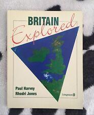 Libro en ingles Britain Explored by Paul Harvey Rhodri Jones longman