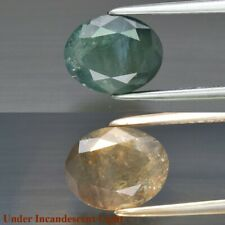 AIGS CERTIFICATE Incl.*Rare! 3.64ct 9.5x7.6mm Oval Natural Green Alexandrite