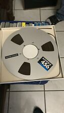 "Reel to Reel Tape Ampex Grand Master 456 Professional Solid Metal 1//4/"" 10.5/"" NAB"