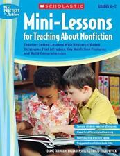 Mini-Lessons for Teaching About Nonfiction: Teacher-Tested Lessons With