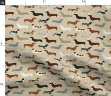 New listing Dachshund Dachshunds Dogs Dog Pet Cute Pets Spoonflower Fabric by the Yard