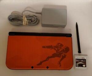 """New"" Nintendo 3DS XL Samus Edition Handheld System with Samus Returns game"