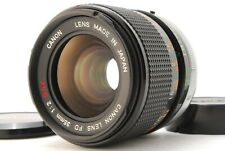 【NEAR MINT】 CANON FD 35mm F/2 S.S.C. SSC Wide Angle Lens from JAPAN #187