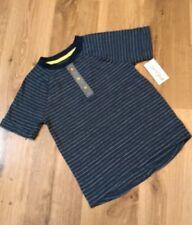 Cat & Jack 5T Boys Shirt Blue Striped Henley