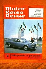 Motor + Fahrer Reise Revue 8/61 Lancia Flavia