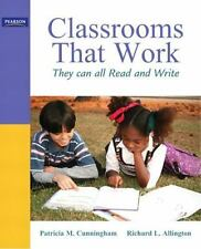 Classrooms that Work: They Can All Read and Write (5th Edition), Patricia M. Cun