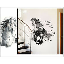 Removable Animal Horse Wall Stickers Decals Art Mural Vinyl Home Room Decor Diy