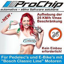 "Vmax Tuning für E-Bike / Pedelec / Elektrofahrrad mit ""Bosch Classic Line"" Motor"