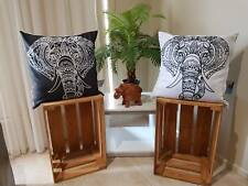 Cushions  Indoor/Outdoor Tribal Ethnic Elephant Pillow cases