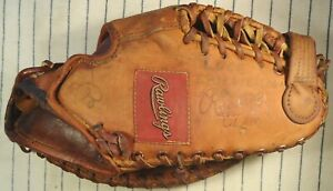 1950s Rawlings George McQuinn T80 high-quality BB 1st base mitt glove Browns NYY