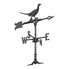 "30"" Pheasant Accent Weathervane - Black"