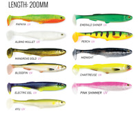 3 packs brand new Storm wildeye pro paddle tails soft plastic fishing lures,19CM