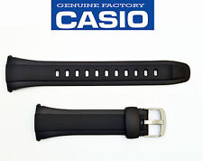 Casio Original Watch Band STRAP Black WVA-M640 WVQ-M410B WVQ-M410 WAVE CEPTOR