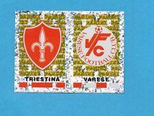 PANINI CALCIATORI 2001/2002- Figurina n.638- TRIESTINA+VARESE - SCUDETTO -NEW
