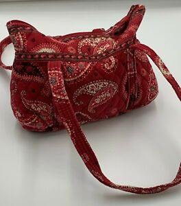 Vera Bradley Quilted Paisley Zippered Purse