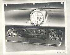 1950 Oldsmobile 88 DeLuxe Radio & Clock ORIGINAL Factory Photograph ww6413