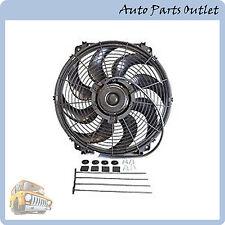 """16"""" Universal Slim Pull/Push 1500CFM Radiator Cooling Fan Mounting Kit"""
