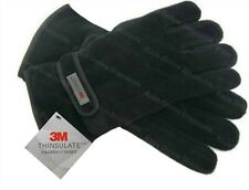 Mens Thinsulate Gloves Fleece Thermal Insulation Lined Adults Warm Winter Wear