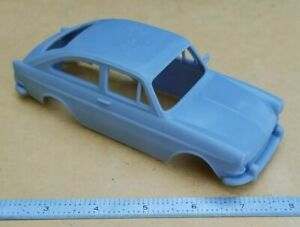 3D PRINTED 1/25 1965 VW TYPE 3 1600 FASTBACK BODY. SLOT CAR VOLKSWAGEN  READ!!