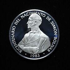 1983 20 Balboa Coin of The Republic of Panama with COA has a little damage