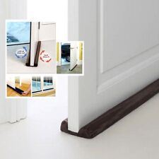 Door Dust Draft Dodger Guard Stopper Energy Saving Protector Doorstop Home Decor