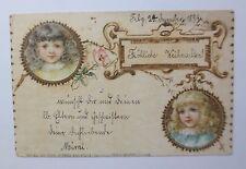 """""""Weihnachten, Kinder, Mode"""" 1899, Carl Hirsch Konstanz ♥ (50538)"""