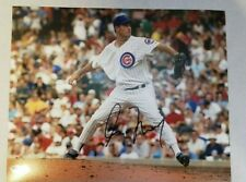 Greg Maddux Signed Autograph 8X10 Photo Chicago Cubs With COA