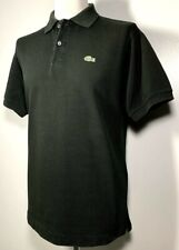 Mens Lacoste Black Polo Shirt Size L Great condition *Exclusive* 9-560