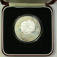 "1983 Jamaica ""Royal Visit"" Commemorative Silver $10 Proof Coin OGP Franklin Mint"