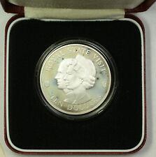 1983 Jamaica Royal Visit Commemorative Silver $10 Proof Coin OGP Franklin Mint