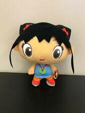 """Large Ni hao Kai-Lan Licensed Nanco Plush 12/"""" .Nickelodeon Plush Soft Doll NWT"""