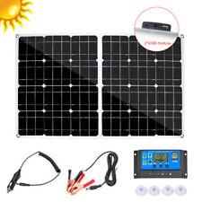 60W/250W 12V Folding Solar Panel Kit Battery Charger Controller for Car RV Boat