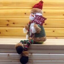 Christmas Tree Hanging Decoration Xmas Snowman Doll Ornaments Gifts for Kids
