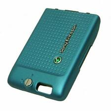 Cyan Battery Back Rear Cover For Sony Ericsson C702 Original Part