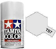Bombe de peinture Tamiya blanc racing brillant TS-7