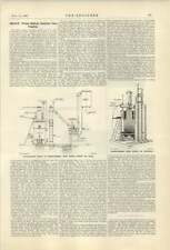 1921 400 Hp Waste Wood Refuse Gas Engine