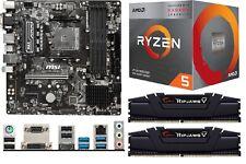 Bundle AMD Ryzen 5 3400G, 16GB DDR4-3200, MSI B450M Pro-VDH Max Sockel AM4 neu
