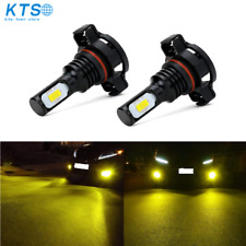 5202 Ps24Wff Led Fog Light Bulbs Csp 3570-Chips 70W 8000Lm 3000K Gold Yellow Us