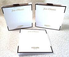HERMES JOUR D'HERMES - LOT OF (3) EAU DE PARFUM SPRAY SAMPLES - 0.06 oz.ea.