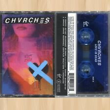 BLUE CASSETTE----> CHVRCHES Love Is Dead TAPE Get Out  MIRACLE My Enemy     0721