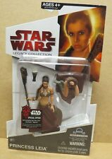 STAR WARS LEGACY COLLECTION PRINCESS LEIA ACTION FIGURE SEALED #BD17