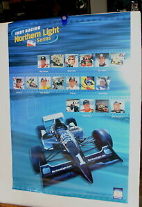 INDY RACING LEAGUE NORTHERN LIGHTS INDY 500 LARGE POSTER 24 X 36 COLOR
