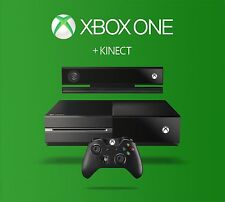 Microsoft Xbox One with Kinect 500GB Black Console NOB