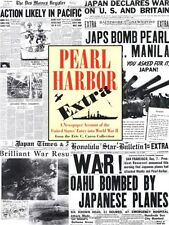 Pearl Harbor Extra: A Newspaper Account of the Uni