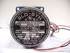 SUPERIOR ELECTRIC SS25-111O QUANTITY! 72RPM 120V SYNCHRONOUS STEPPING MOTOR