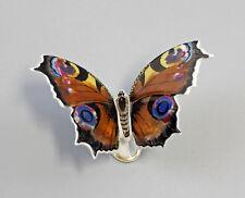 Butterfly Large Peacock´s Eye Kämmer-Porcelain 10X7X7CM a1-44138
