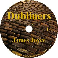 Dubliners, James Joyce Audiobook Unabridged Fiction English Literature 1 MP3 CD